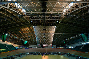 2002 Commonwealth Games - Image: Manchester Velodrome roof