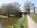Manley Bridge, on the Grand Western Canal - geograph.org.uk - 1211779.jpg