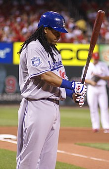 Manny Ramirez with a bat in August 2008.jpg
