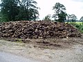 Manure pile in Corwen, Wales.jpg