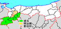 Map Hino District, Tottori en.png