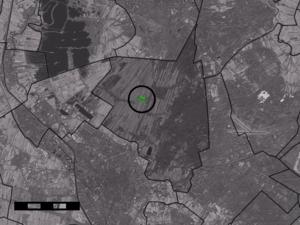 Achterwetering - Image: Map NL De Bilt Achterwetering