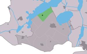 Elahuizen - Image: Map NL Gaasterlân Sleat Ealahuzen