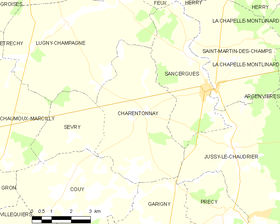 Map commune FR insee code 18053.png
