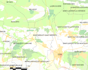 Map commune FR insee code 30174.png