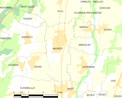Map commune FR insee code 65007.png