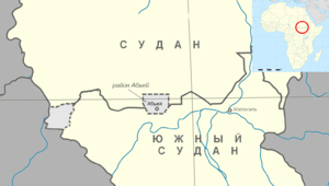Map of Abyei Area ru.png