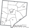 Map of Clinton County Ohio Highlighting Lynchburg Village.png