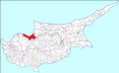 Map of Lefke Municipality 2016.png