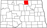 Map of North Dakota highlighting Rolette County.svg