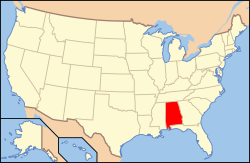 Map of USA AL.svg