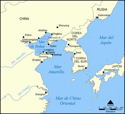 Mar de Bohai – Wikipédia, a enciclopédia livre