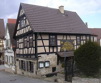 Marbach am Neckar - Birthplace of Tobias Mayer