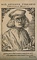 Marc Antonio della Torre (Turrianus). Woodcut by T. Stimmer, Wellcome V0005856.jpg