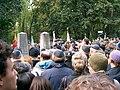 Marek Edelman's funeral Warsaw October09 2009 CIMG7518.JPG