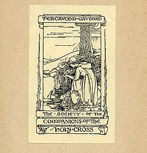 Margaret Ely Webb - Image: Margaret Ely Webb Bookplate Society of the Companions of the Holy Cross