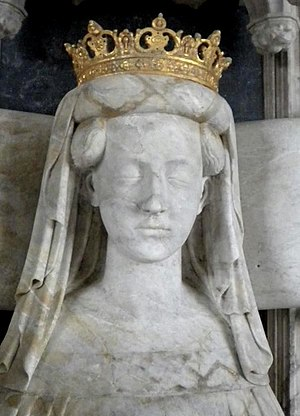 Nordic countries - Effigy of Queen Margaret, founder and ruler of the Kalmar Union