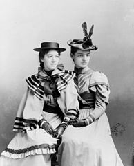 "Marian Hubbard ""Daisy"" Bell and Elsie May Bell by Pach Brothers, ca. 1896.jpg"