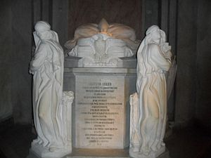 Montevideo Metropolitan Cathedral - Tomb of Archbishop Mariano Soler at the Metropolitan Cathedral of Montevideo