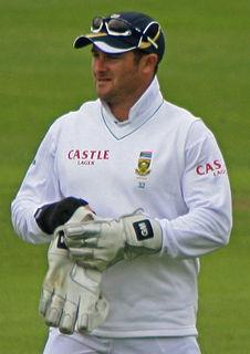 Mark Boucher South African cricketer