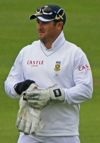 Mark Boucher - Boucher playing his last game for South Africa against Somerset in July 2012.