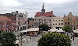 Marketplace in Kościerzyna Poland.jpg