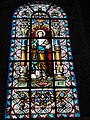 Maroilles (Nord, Fr) église vitrail 12 apôtres 09.JPG