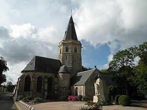 Marquise, Pas-de-Calais - The church of Marquise