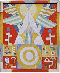 Arrangement - Hieroglyphics (Painting No. 2)