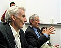 Martin Rees and Freeman Dyson-4Aug2007.jpg