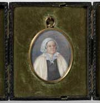 Mary Reibey - The only known portrait of Reibey, a miniature dated around 1835 (at 58 years old)