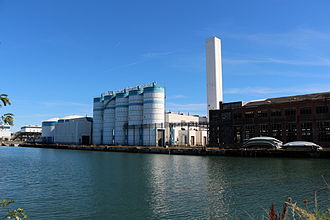 Fore River Shipyard - The Massachusetts Water Resources Authority pelletizing plant