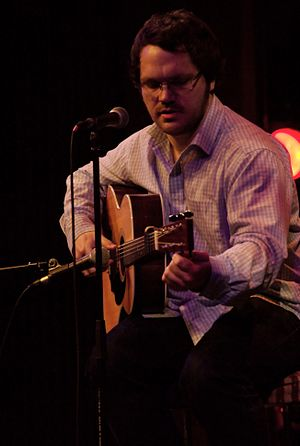 Matthew Holness - Holness performing as Merriman Weir in 2007