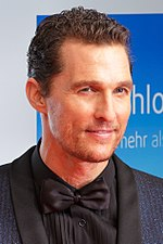 Photo of Matthew McConaughey at the awards of the Goldene Kamera 2014 in Berlin.