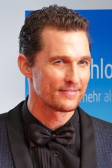 Matthew McConaughey - the cool, sexy, enigmatic,  actor  with German, Irish, Scottish, English, Welsh, Swedish,  roots in 2020
