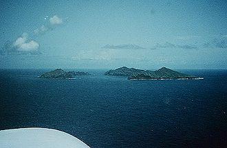 Maug Islands - US Geological survey photo of Maug islands