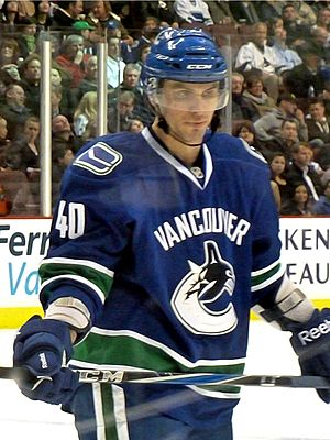 Vancouver Canucks center Maxim Lapierre during...