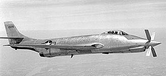 McDonnell XF-88 Voodoo - Supersonic jet-turboprop hybrid XF-88B