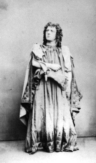 Frederick Robson - Robson as Ristori as Medea