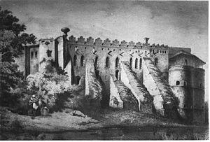 Medzhybizh - Medzhybizh Castle in 1850