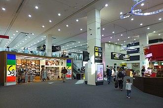 Melbourne Airport - Terminal 3 interior