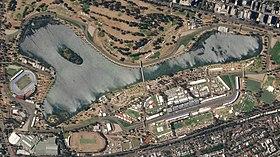 Melbourne Grand Prix Circuit, March 22, 2018 SkySat (cropped).jpg