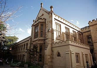 University of Melbourne - Cussonia Court, home to the Schools of Classics and Philosophy