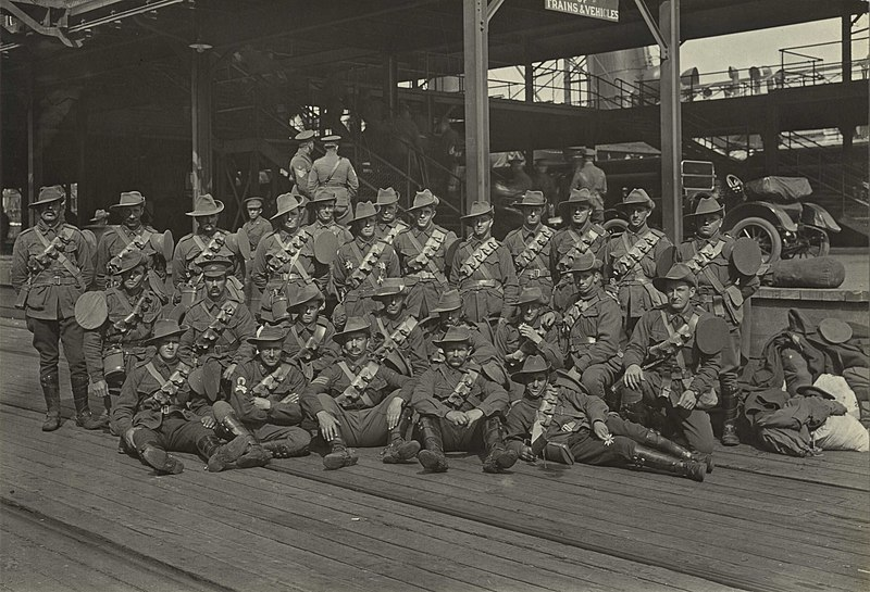 Josiah Barnes collection of First World War negatives and