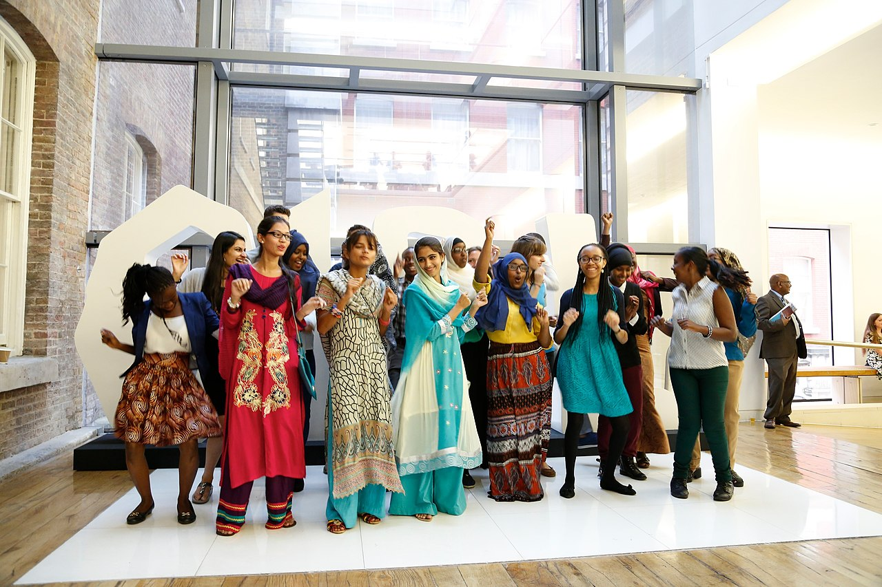 Members of the Youth For Change Youth Panel dancing (14503114539).jpg