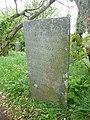 Memorial stone, St Gennys - geograph.org.uk - 1387421.jpg