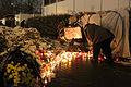 Memorial to November 2015 Paris attacks at French embassy in Moscow 20.jpg