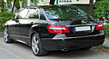 Mercedes E 250 CGI BlueEFFICIENCY Avantgarde (W212) rear 20100516.jpg