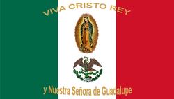 Sobre la vida de Juan Daniel Macías Villegas  y algunos otros Cristeros 250px-Mexico_Flag_%28Cristeros%29