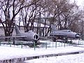 MiGs in Museum of military history of Moldova (1518072873).jpg